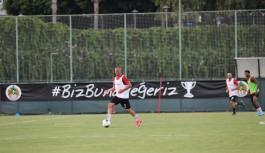 Alanyaspor'da Konyaspor hazırlıklarına başladı!