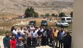 CHP kırsalın sorunları dinledi şimdi ise çözümde!