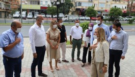 AK Partili vekilden Alanya'ya ziyaret