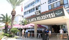 Alanya belediye binasında COVİD-19 tedbiri! İşte alınan tedbirler!