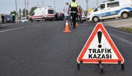 Alanya'dan yola çıkan otobüs kaza yaptı: 31 yaralı