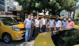 Alanya Kaymakamı taksicileri ziyaret etti!