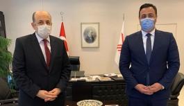 Rektör Kalan'dan YÖK başkanına ziyaret