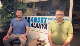 Toklu'dan Manşet Alanya'ya ziyaret