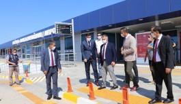 Validen, Alanya-Gazipaşa havalimanında Covid-19 denetimi!