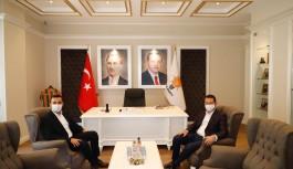 AK Parti Kaymakam Ürkmezer'i ağırladı