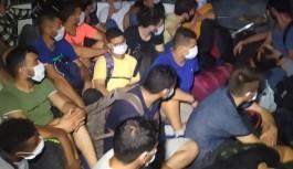 Alanya açıklarında 120 göçmen yakalandı!