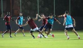 Alanyaspor Kayseri'ye hazırlanıyor