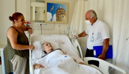 ALKÜ den palyatif hastalarına manevi destek!