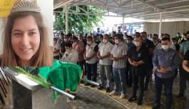 'Maskeli Şebnem' gözyaşları içerisinde toprağa verildi
