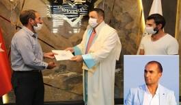 Vefat eden ALKÜ'lü öğrencinin diploması ailesine verildi!