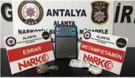 Alanya'da uyuşturucu satanlara göz açtırılmıyor!