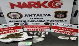 Alanya'da uyuşturucu operasyonu!