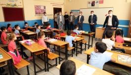 Alanya'da yüz yüze eğitimine protokol ziyareti