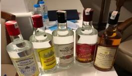 Avsallarda kaçak içki operasyonu!