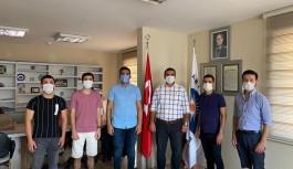CHP'li gençler itfaiye erlerini ziyaret