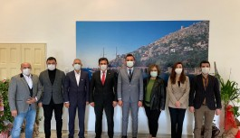 Ak Parti Alanya'dan 'Hayırlı olsun' ziyareti