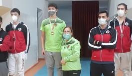 Alanyaspor eskrim takımı 6 madalya ile döndü