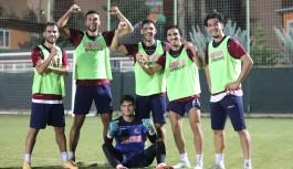 Alanyaspor, Trabzonspor maçı hazırlıklarını sürdürüyor!