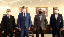 Kazakistan büyükelçisi Alanya'da!