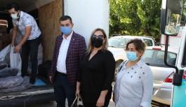 MHP Alanya'dan İzmirli depremzedelere yardım eli!