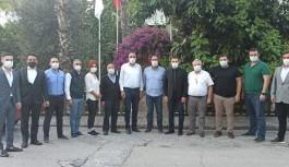 MHP'den ALTİD'e ziyaret