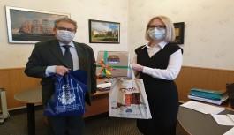 Murmansk Ticaret Odasına hayırlı olsun ziyareti