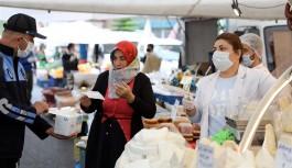 Alanya belediyesi tam 2 milyon 100 bin maske!