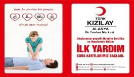 Alanya Kızılay personel alacak!