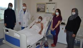 ALKÜ'de ilk kez kapalı akciğer ameliyatı yapıldı