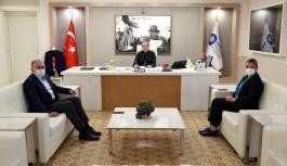 Antalya Büyükşehir Belediye Başkanı Muhittin Böcek göreve başladı.