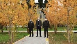 Askerlik şube başkanlığına ziyareti