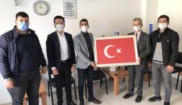 CHP'li gençlerden hayırlı olsun ziyareti