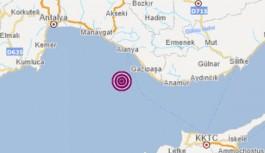 İşte Alanya deprem raporu: Alanya da şehrin içinden geçen bilinen bir aktif fay bulunmamaktadır!