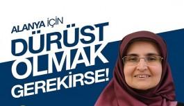 Saadet Partisi kadın kolları başkanı, iktidarı eleştirdi!