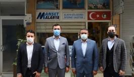 Ak Partiden Manşet Alanya'ya ziyaret