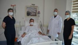 Bu ameliyat Alanya'da ilk kez gerçekleştirildi!