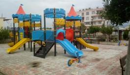 Çocuk parkları yenileniyor!
