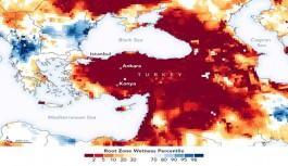 Kuraklık uyarısı: NASA'dan Türkiye paylaşımı!