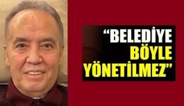 AKP ve MHP'den Antalya Büyükşehir'e eleştiri yağmuru!