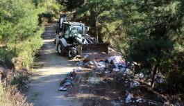 Alanya belediyesi ormanlarımızı temizledi!