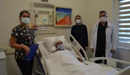 Alanya'da ki sağlık çalışanın beyninde tümör tespit edildi