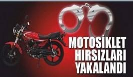 Alanya'da motosiklet güvenlik kamerasına yakalandı!