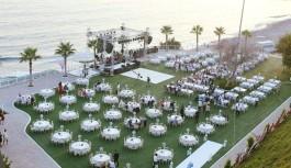Alanya'da yaz düğünlerinin vazgeçilmez adresi: Sea Star hotel