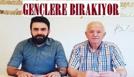 Esnaf odası başkanı Demir görevini Selman Arıkan'a bırakıyor!