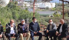 Ak Partili Toklu'nun mahalle ziyaretleri sürüyor