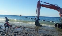 Alanya'daki derin deniz deşarj hatlarında bakım-onarım