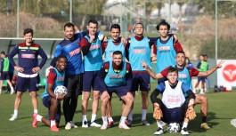 Alanyaspor'da Antalyaspor hazırlığı