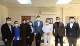 Sağlık kurumlarına Tıp bayramı ziyareti!