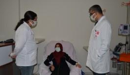 Alanya'da 40 hastaya kemoterapi kürü uygulanıyor